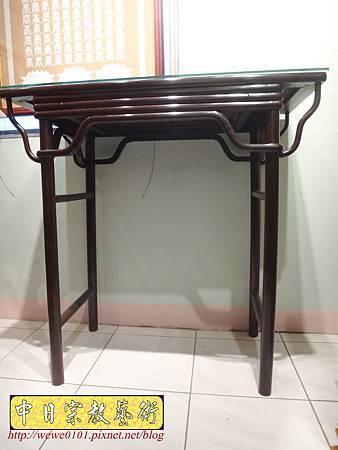 M17802.時尚神桌款式 3尺6現代佛桌設計 雞翅木神桌樣式.JPG