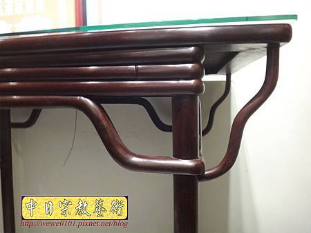 M17804.時尚神桌款式 3尺6現代佛桌設計 雞翅木神桌樣式.JPG