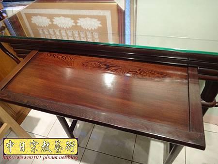 M17805.時尚神桌款式 3尺6現代佛桌設計 雞翅木神桌樣式.JPG