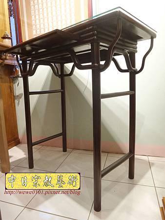M17807.時尚神桌款式 3尺6現代佛桌設計 雞翅木神桌樣式.JPG