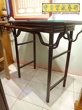M17808.時尚神桌款式 3尺6現代佛桌設計 雞翅木神桌樣式.JPG