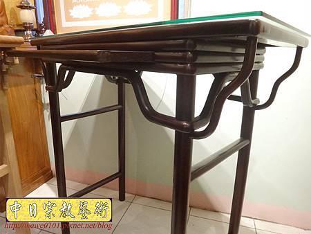 M17809.時尚神桌款式 3尺6現代佛桌設計 雞翅木神桌樣式.JPG