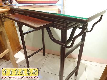 M17810.時尚神桌款式 3尺6現代佛桌設計 雞翅木神桌樣式.JPG