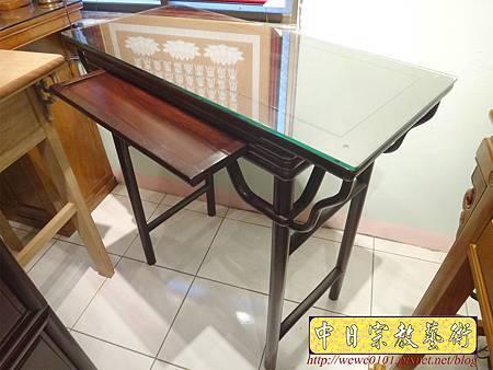 M17811.時尚神桌款式 3尺6現代佛桌設計 雞翅木神桌樣式.JPG