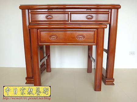 M18001.花梨木神桌製作 現代神桌樣式 4尺2花梨木佛桌樣式.JPG