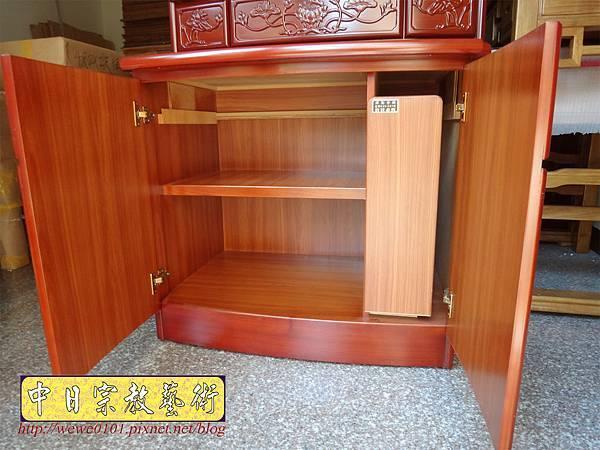 E9505.公媽櫥製作 3尺6公祖先櫥 祖先龕祖先聯.JPG