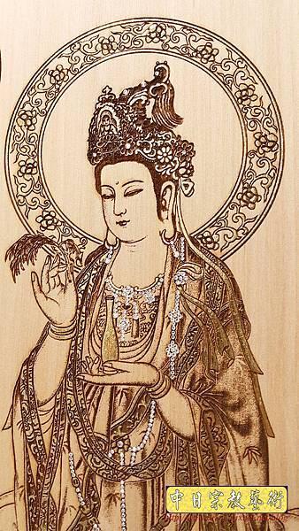 A15412.小佛桌佛聯 西方三聖佛像雕刻.jpg