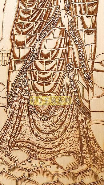 A15416.小佛桌佛聯 西方三聖佛像雕刻.jpg
