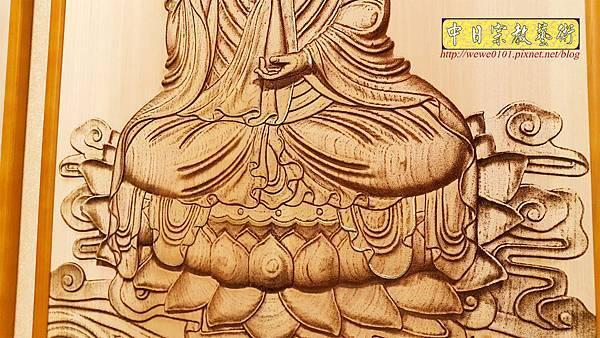 A15707.現代神桌神明聯公媽聯 電腦雕刻觀世音菩薩像.jpg