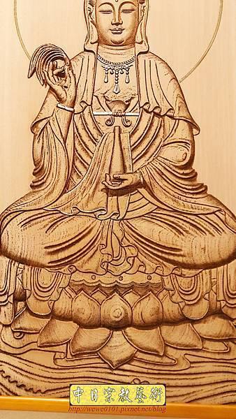 A15708.現代神桌神明聯公媽聯 電腦雕刻觀世音菩薩像.jpg