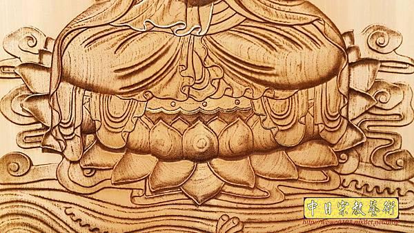 A15709.現代神桌神明聯公媽聯 電腦雕刻觀世音菩薩像.jpg