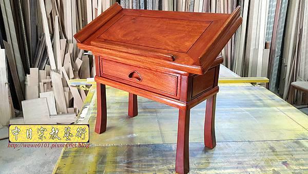 M18105.讀經桌 讀經架 花梨木經書桌 可調式讀經桌.jpg