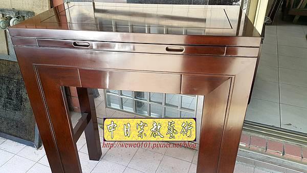 M18207.時尚神桌 設計 簡約風2尺9佛桌樣式 雞翅木小神桌.jpg