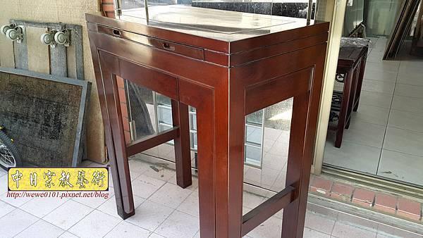 M18208.時尚神桌 設計 簡約風2尺9佛桌樣式 雞翅木小神桌.jpg