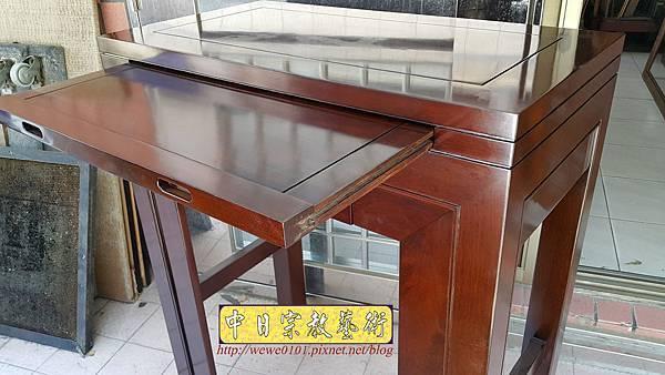 M18209.時尚神桌 設計 簡約風2尺9佛桌樣式 雞翅木小神桌.jpg