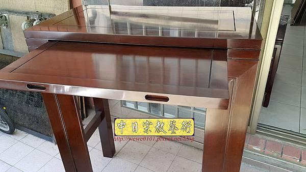 M18210.時尚神桌 設計 簡約風2尺9佛桌樣式 雞翅木小神桌.jpg