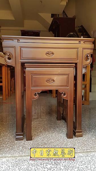M18401.拜拜小佛桌 2尺9小神桌樣式 明式小公媽桌.jpg