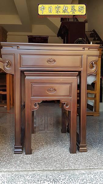M18402.拜拜小佛桌 2尺9小神桌樣式 明式小公媽桌.jpg