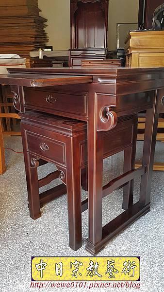 M18405.拜拜小佛桌 2尺9小神桌樣式 明式小公媽桌.jpg