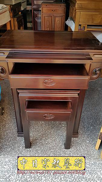 M18407.拜拜小佛桌 2尺9小神桌樣式 明式小公媽桌.jpg