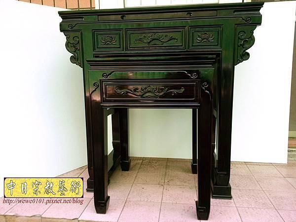 M18601.高級黑檀木神桌 3尺6佛桌樣氏 黑檀明式神桌.jpg