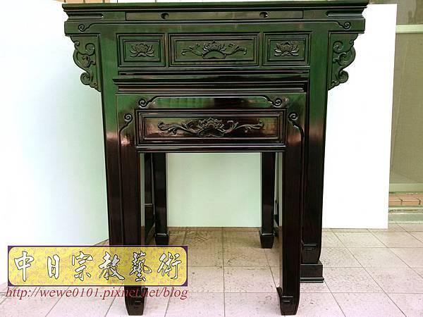 M18603.高級黑檀木神桌 3尺6佛桌樣氏 黑檀明式神桌.jpg