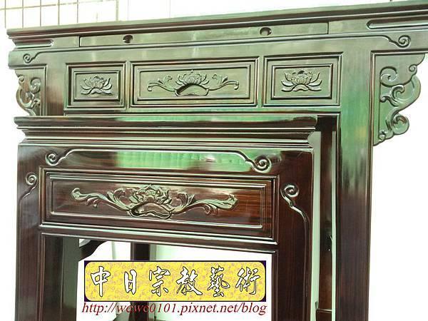 M18605.高級黑檀木神桌 3尺6佛桌樣氏 黑檀明式神桌.jpg