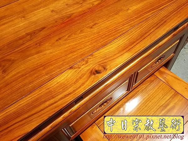 M18811.拜拜小神桌 2尺9小佛桌 柚木祖先公媽桌.jpg