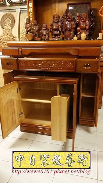 M19107.檜木神明櫥公媽櫥 5尺1佛櫥佛龕樣式.jpg