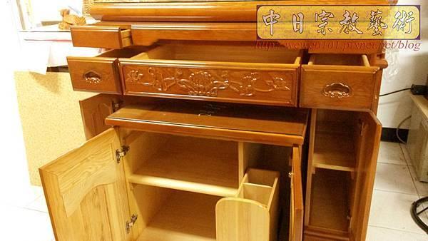M19108.檜木神明櫥公媽櫥 5尺1佛櫥佛龕樣式.jpg
