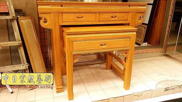 M19202.天然柚木佛桌製作 4尺2神桌 明式公媽桌樣式.jpg