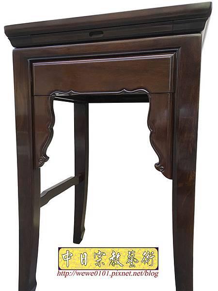 M19507.二尺二黑紫檀素面小神桌 公媽桌.JPG