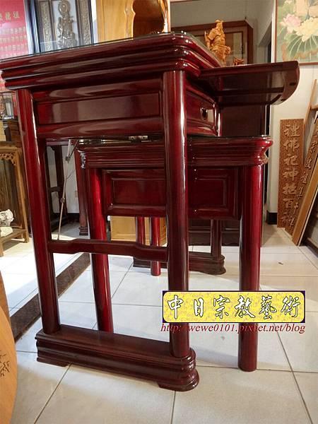 M13208.公寓小神桌 3尺6圓腳佛桌.JPG