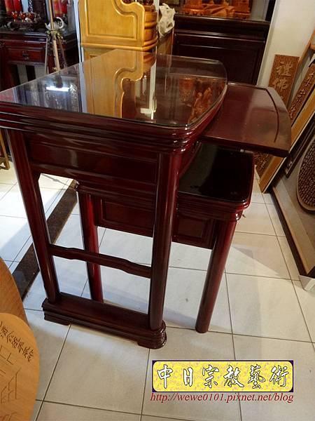 M13209.公寓小神桌 3尺6圓腳佛桌.JPG
