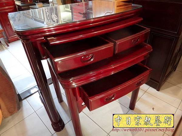 M13213.公寓小神桌 3尺6圓腳佛桌.JPG