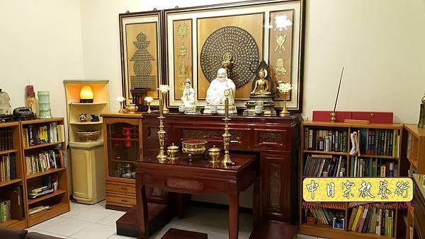 N33208.五尺一櫃型佛桌 梵書佛頂尊勝陀羅尼咒.jpg