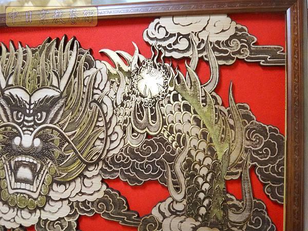 A18405.龍壁雕刻 宮廟壁龍木雕 神桌後貼龍壁.JPG