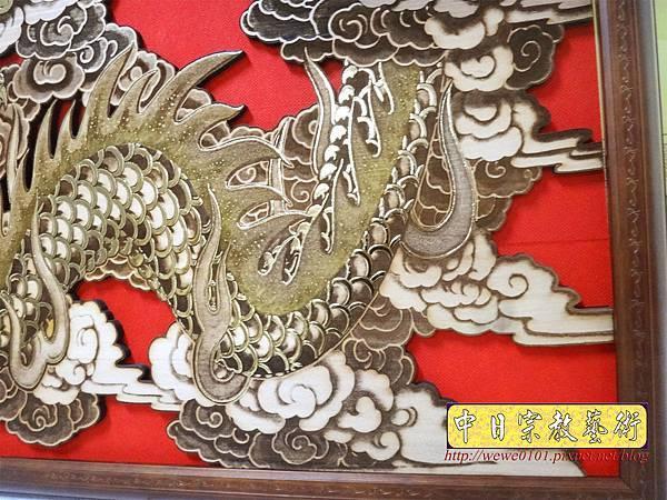 A18407.龍壁雕刻 宮廟壁龍木雕 神桌後貼龍壁.JPG