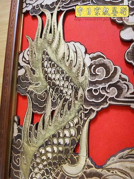 A18410.龍壁雕刻 宮廟壁龍木雕 神桌後貼龍壁.JPG