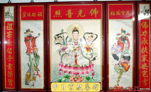 G0102e神桌佛桌神櫥佛櫥神像佛像佛聯神明彩聯對佛祖木雕聯佛具