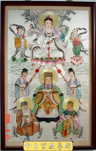 G0106e神桌佛桌神櫥佛櫥神像佛像佛聯神明彩聯對佛祖木雕聯佛具