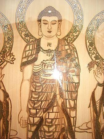 A0911e神桌佛桌神櫥佛櫥神像佛像佛聯神明彩聯對佛祖木雕聯佛具.jpg
