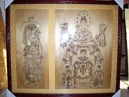 A1101e神桌佛桌神櫥佛櫥神像佛像佛聯神明彩聯對佛祖木雕聯佛具1.jpg
