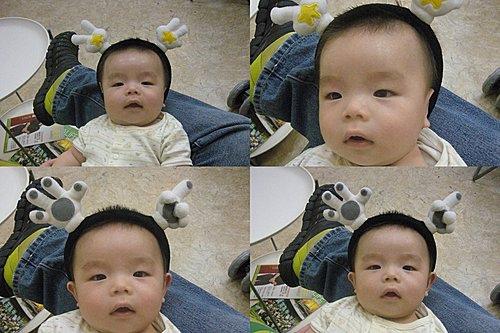 韓國買的可愛髮箍1