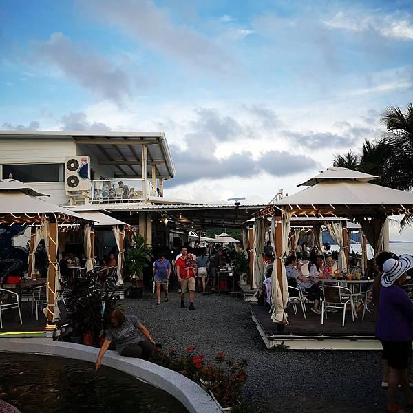 愛琴海海岸海景咖啡餐廳