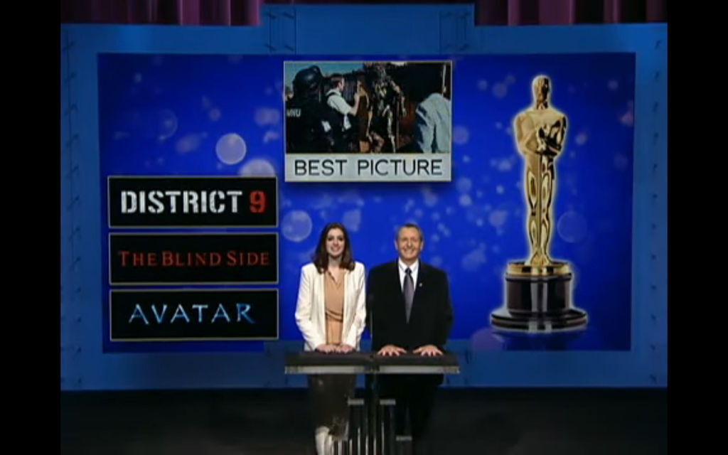 第九典禮入圍(Official Oscar Nominations Announcement 2010 ,6分40)
