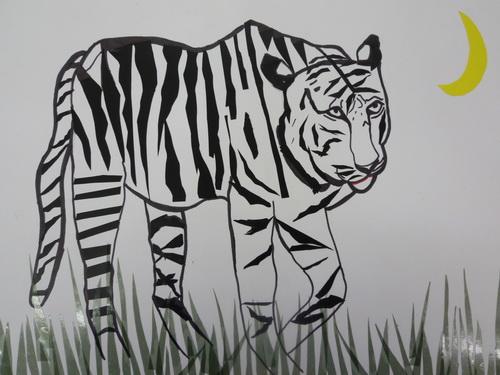 1吳朗綺-貼畫白老虎