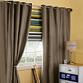《華之逸窗簾》窗簾推薦 素色與彩色搭配