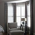 木葉門與窗簾