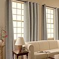 《華之逸窗簾》窗簾推薦 淺灰色窗簾